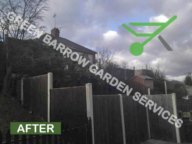 Garden Services Sheffield, Hawthorn Hedge Reduction