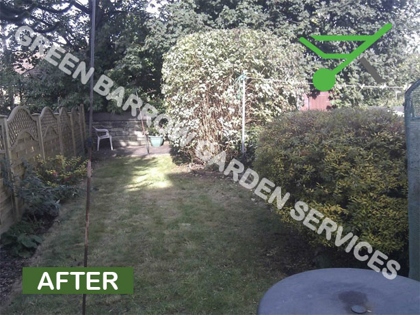 Hillsborough Garden Maintenance After Photo