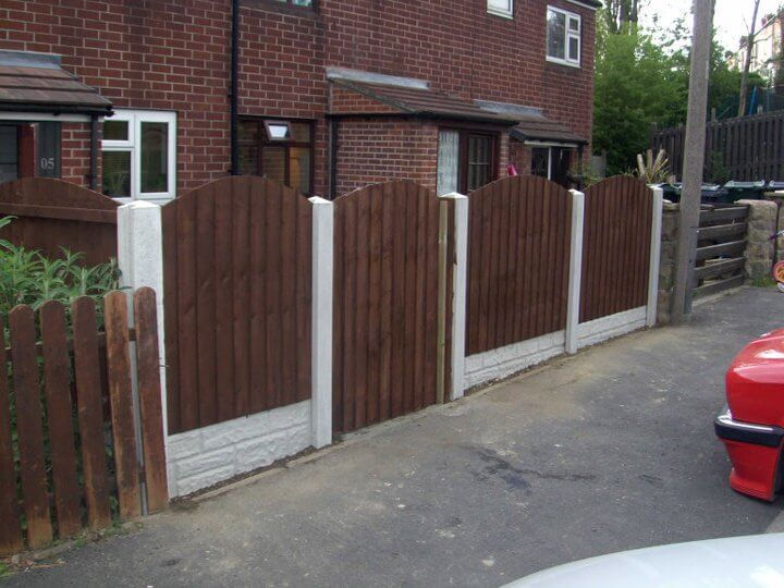 Feather Edge Fencing, Swallownest, Sheffield after photo