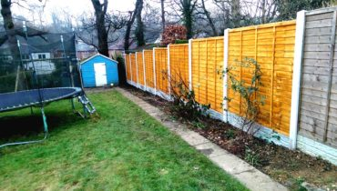 Garden Fence Installation